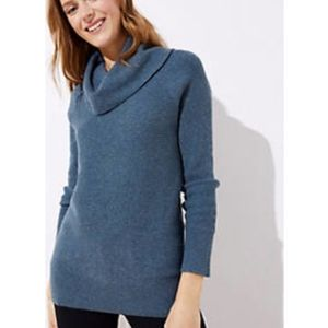 Loft Cowelneck Tunic Sweater
